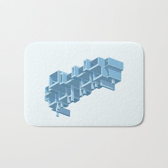 Orange County Government Centre Bath Mat