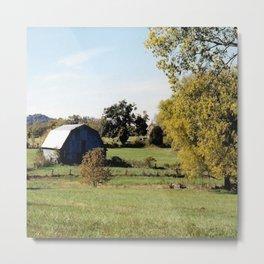Heartland Farm Metal Print