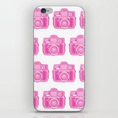 I Still Shoot Film Holga Logo - Pink iPhone Skin