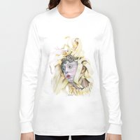 wooden Long Sleeve T-shirts featuring Wooden Hopes. by BrittanyJanet Illustration & Photography