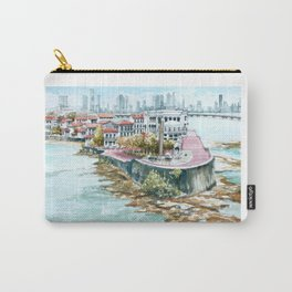 Panama City Watercolor - Panama Carry-All Pouch