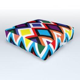 Harlequin - Wild Bright Diamonds Outdoor Floor Cushion