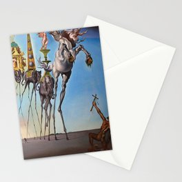 The Temptation of St. Anthony Salvador Dali Stationery Cards