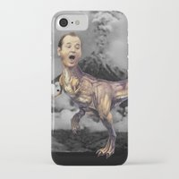 trex iPhone & iPod Cases featuring Bill Murray TRex by Kalynn Burke