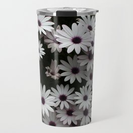 White African Daisies In A Flower Bed Travel Mug