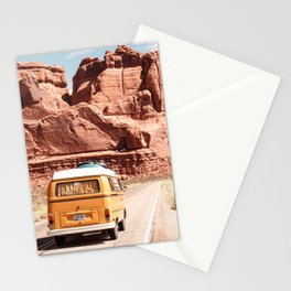 Desert Road Trip Stationery Cards