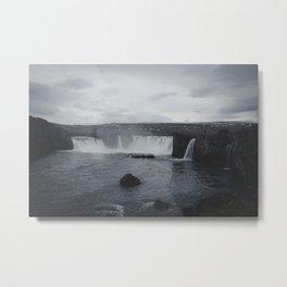 Miniature Niagara Falls Metal Print