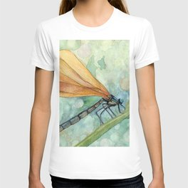 Gold Dragonfly T-shirt