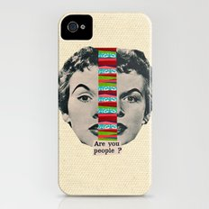Are You People? iPhone (4, 4s) Slim Case