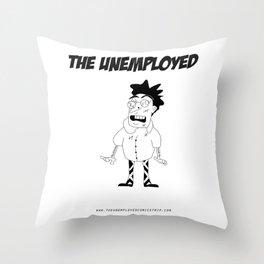 The Unemployed - Stelvio Throw Pillow