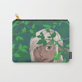 A Leafy Hello Carry-All Pouch