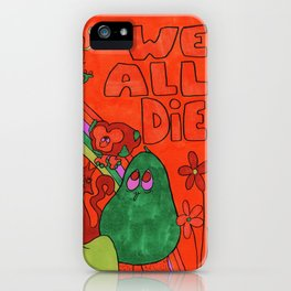 Graveyard Party iPhone Case