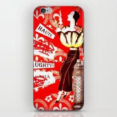 Haute Lady iPhone & iPod Skin