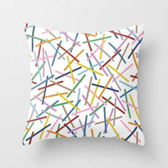 Kerplunk Repeat Throw Pillow