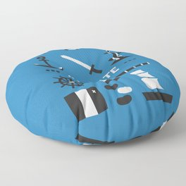 OUAT - A Pirate Floor Pillow