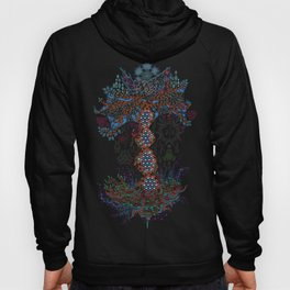Psychedelic Yggdrasil World Tree of Life Hoody