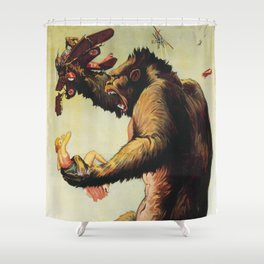 King Kong 1933 Shower Curtain