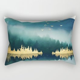 Mist Reflection Rectangular Pillow