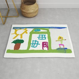 The Green House Rug