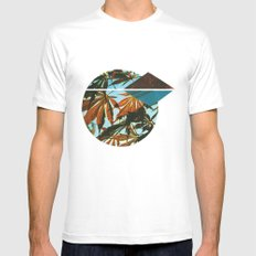 autumn SMALL White Mens Fitted Tee