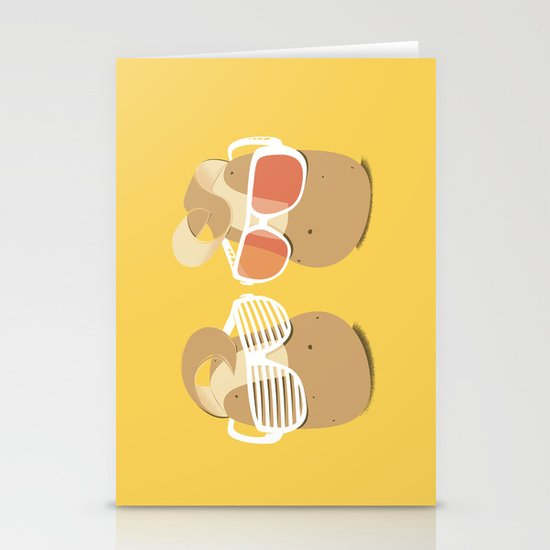 Cool Potatoes Stationery Cards