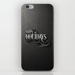 Happy Holidays! iPhone Skin