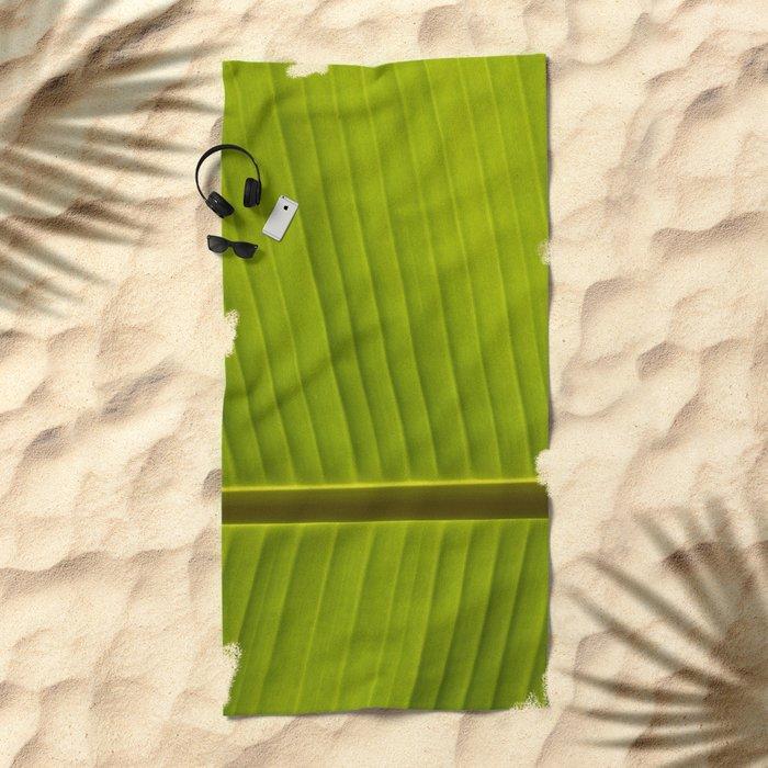 Banana Leaf IV Beach Towel