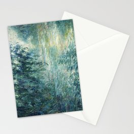 1898-Claude Monet-Morning on the Seine- 73 x 91 Stationery Cards