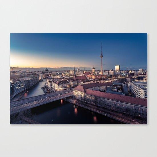 Golden Berlin Canvas Print
