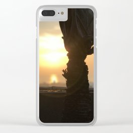 Morning Blaze - Cavite, Philippines Clear iPhone Case