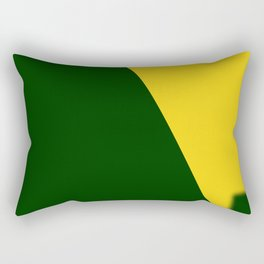 Green-Yellow Rectangular Pillow