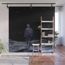 Walking on the Moon - Dark Art Wall Mural