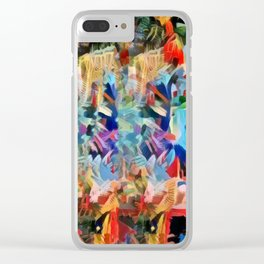 Kaleid in the Jungle I Clear iPhone Case