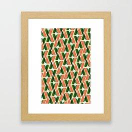 WTU PATTERN PRINT 2 Framed Art Print