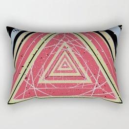 Coffee Table Exploration Rectangular Pillow
