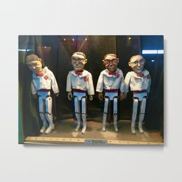 Puppets Metal Print
