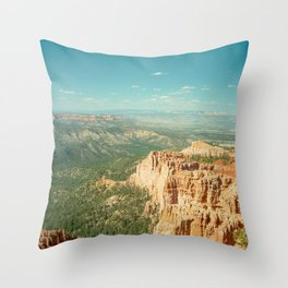 Inspiration Canyon Throw Pillow