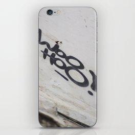 Woo Hoo! iPhone Skin