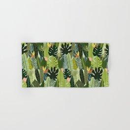 Green On Pattern Hand & Bath Towel