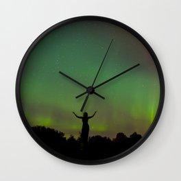 Pleiades Priestess Wall Clock
