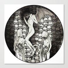 Sursum Umbra Canvas Print