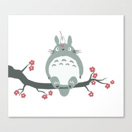 My neighbour Toto-ro Canvas Print