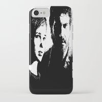 last of us iPhone & iPod Cases featuring The Last of Us  by Black And White Store