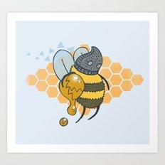 Bee Thief Art Print