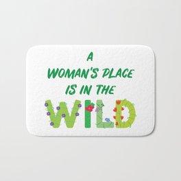 Women in the Wild Bath Mat