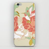 garden iPhone & iPod Skins featuring garden party by Teagan White
