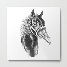 The Elusive Hippogriff Metal Print