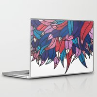 indonesia Laptop & iPad Skins featuring Birds from Indonesia by MARVIZE