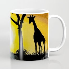 Sunset in Africa Coffee Mug