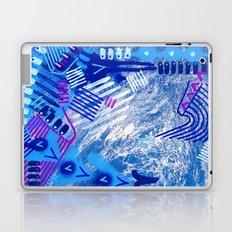 Wave Blue II Laptop & iPad Skin